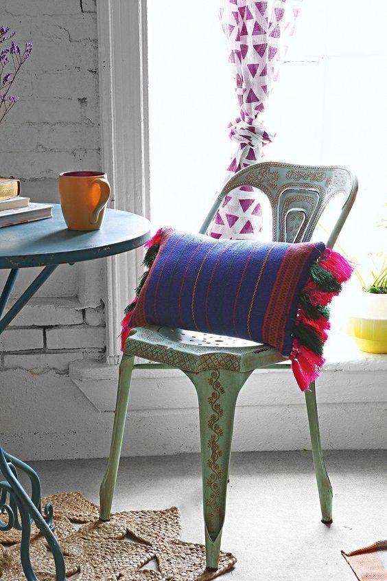 Cojines para sillas cojines tnicos para exterior for Sillas iconicas