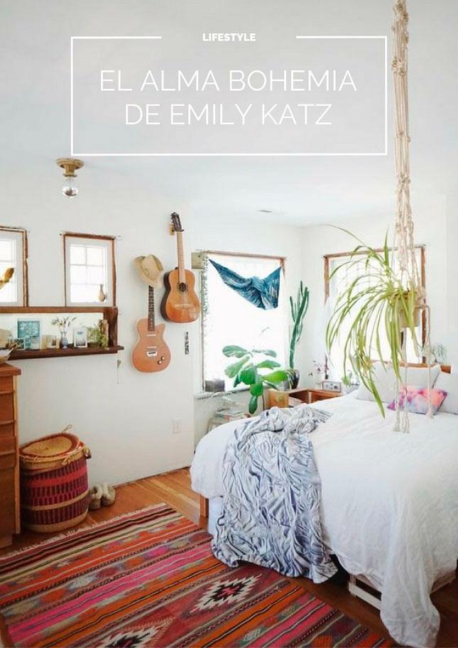 Decoracion bohemia Emily Katz