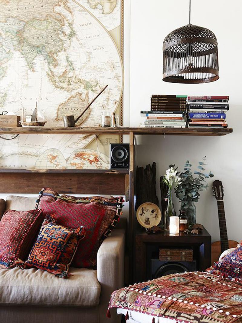 Decoraci n en oto o cojines y alfombras - Decoracion cojines ...