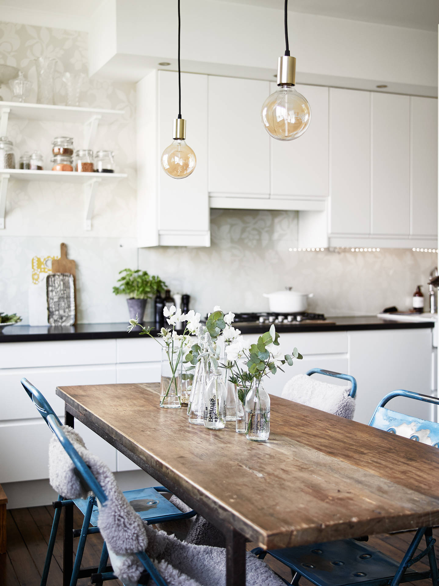 L mparas de dise o en la cocina l mparas de cocina - Iluminacion para cocina comedor ...