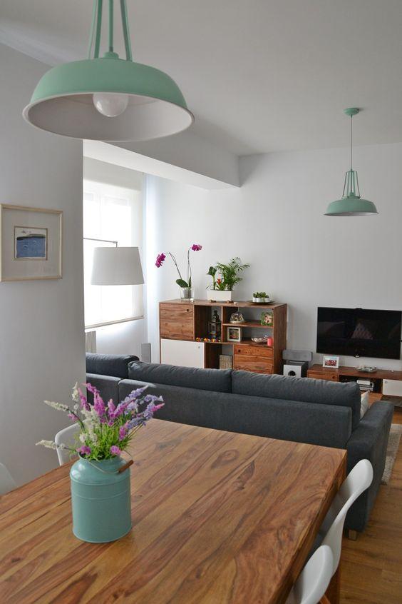 L mparas de dise o en la cocina l mparas de cocina for Lampara de piso minimalista