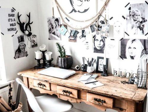 cool working, decoracion despacho en casa