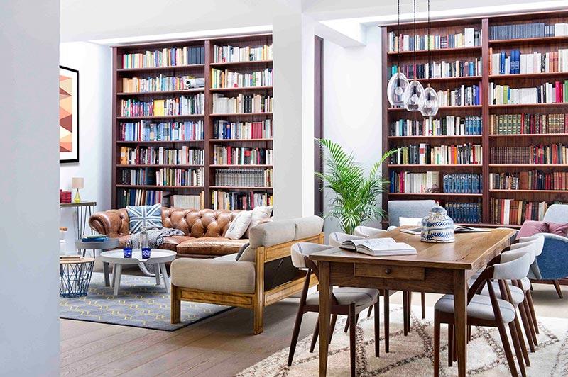 Decorar con libros una casa decoraci n de interiores - Libros de decoracion de interiores ...