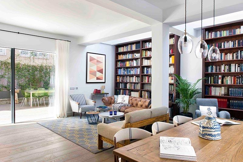 decorar con libros, decoracion de interiores