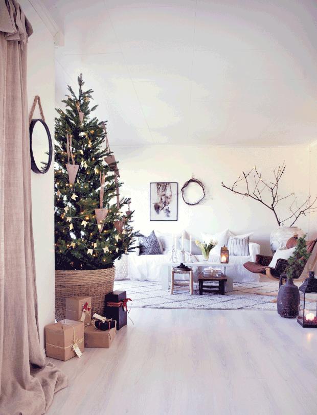 Viaje decorativo a laponia el estilo n rdico de pap noel - Decoracion navidena minimalista ...
