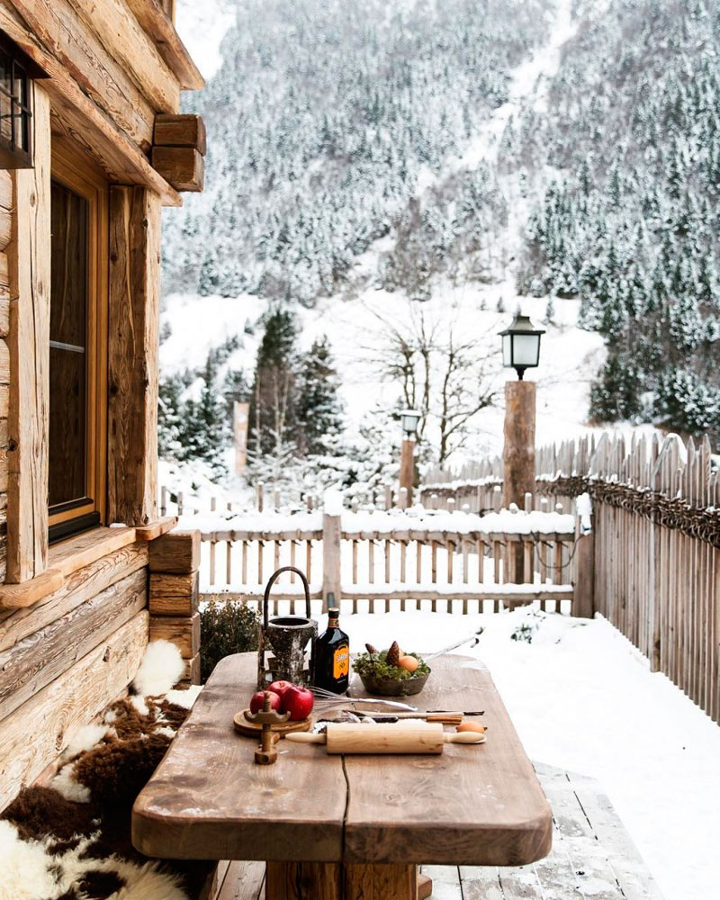 TIPS para decorar tu hogar como una casa rústica de madera