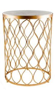 mesas-auxiliar-con-base-dorada-y-marmol-blanco-arabesco
