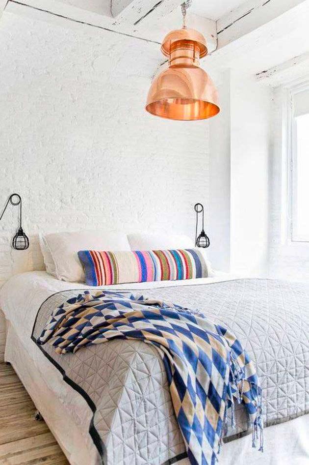 7 Sencillas Ideas Diy Para Hacer Un Cabecero De Cama Original - Ideas-para-hacer-un-cabecero-de-cama