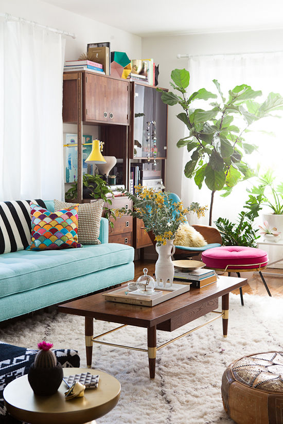 reforma de apartamento con elementos vintage Mid Century