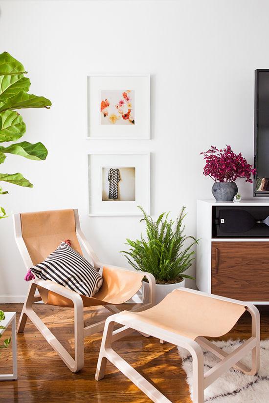 foto detalle decoración apartamento