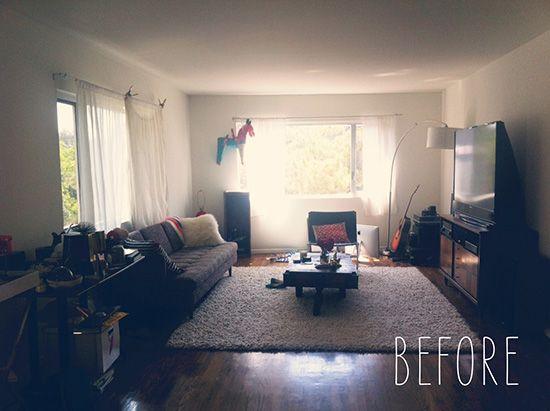 apartamento antes de la reforma decorativa