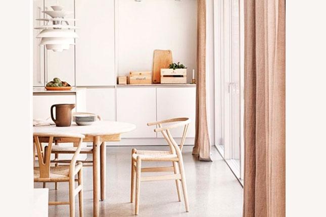 silla de diseño de madera ch24