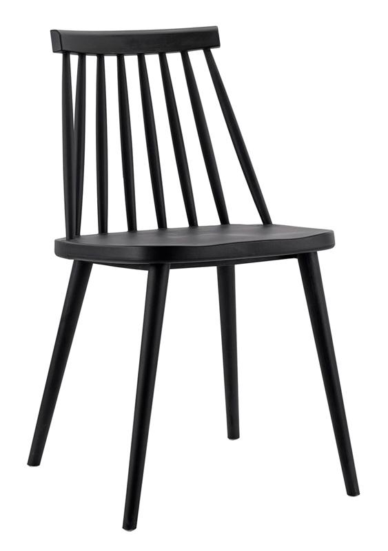 silla Fanett negra IconsCorner