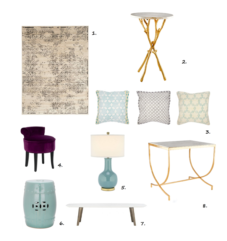 muebles auxiliares y complementos vintage IconsCorner