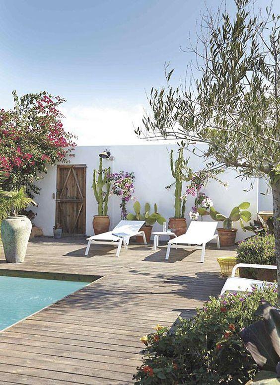 decoración aire mediterráneo