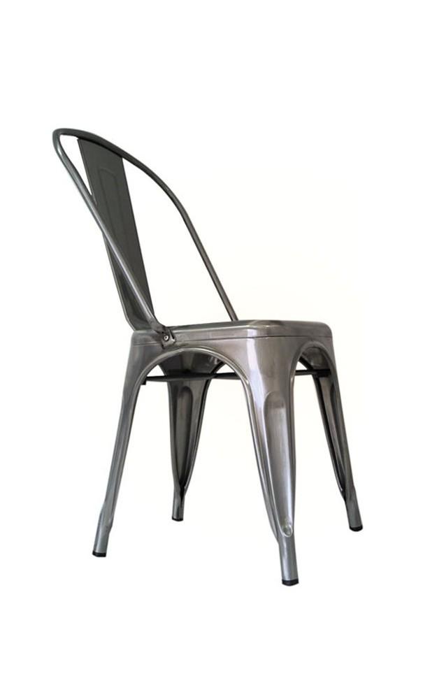 Silla vintage metálica