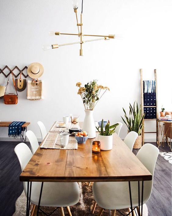 cómo iluminar una cocina grande, lámpara propuesta