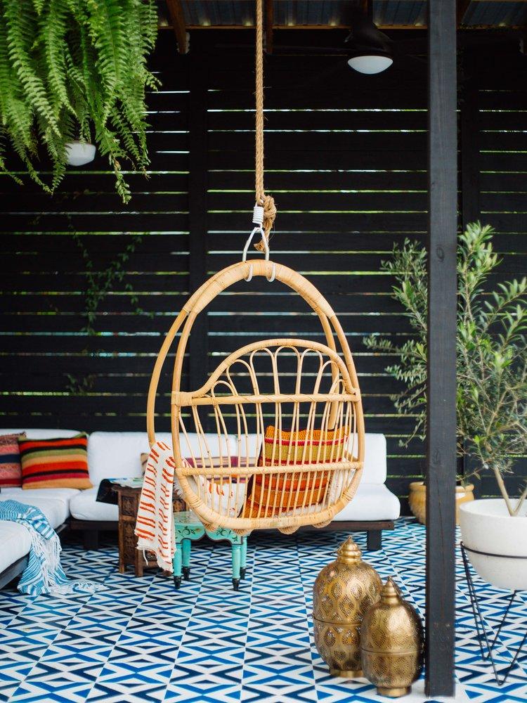Detalle de cómo decorar tu patio