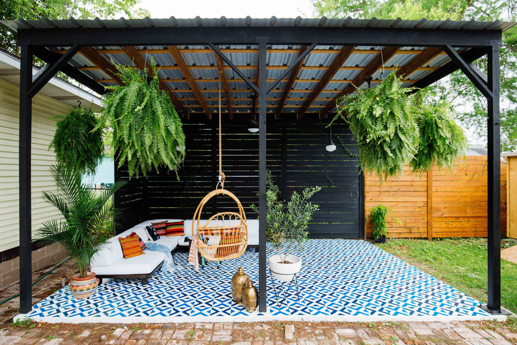 cmo decorar un patio - Como Decorar Un Patio