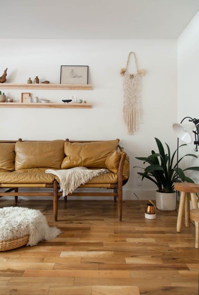 interior estilo bohemio