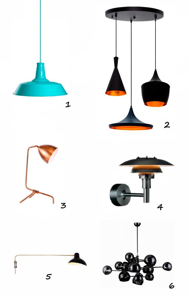 iluminación, lámparas de diseño, selección de productos IconsCorner