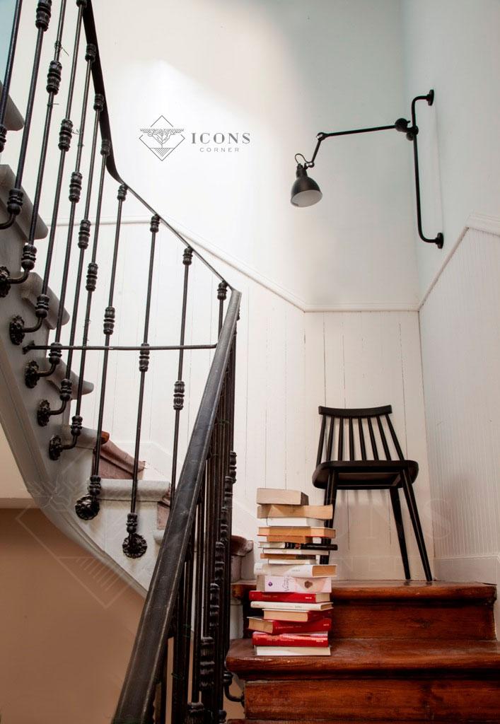 Apliques de pared para escaleras trendy muebles lmparas de pared para el dormitorio apliques de - Apliques para escaleras ...