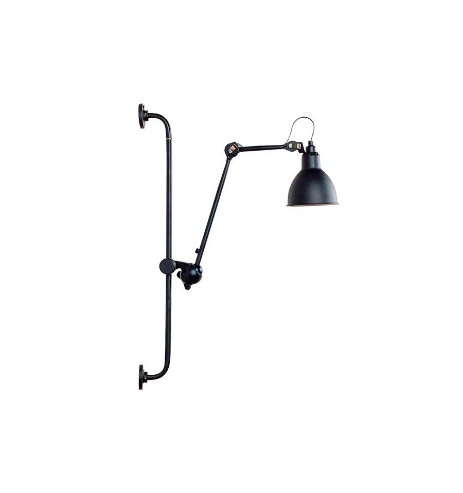 Lámpara industrial Bernard-Albin Gras Negro
