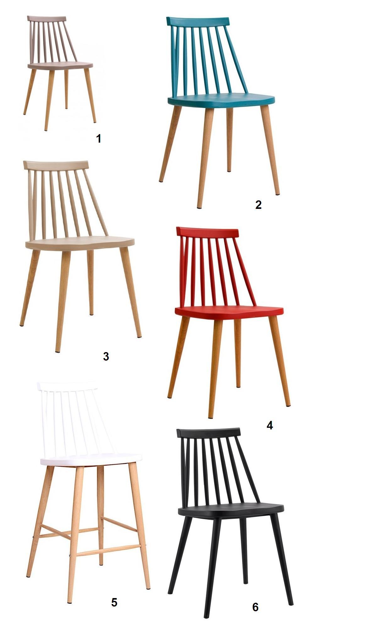 sillas fanett de diseño nórdico