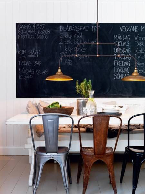 Conjunto de sillas de hostelería Tolix de Xavier Pauchard