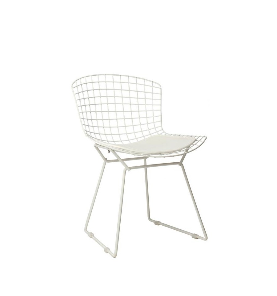 Silla Harry Bertoia Tribute Blanca