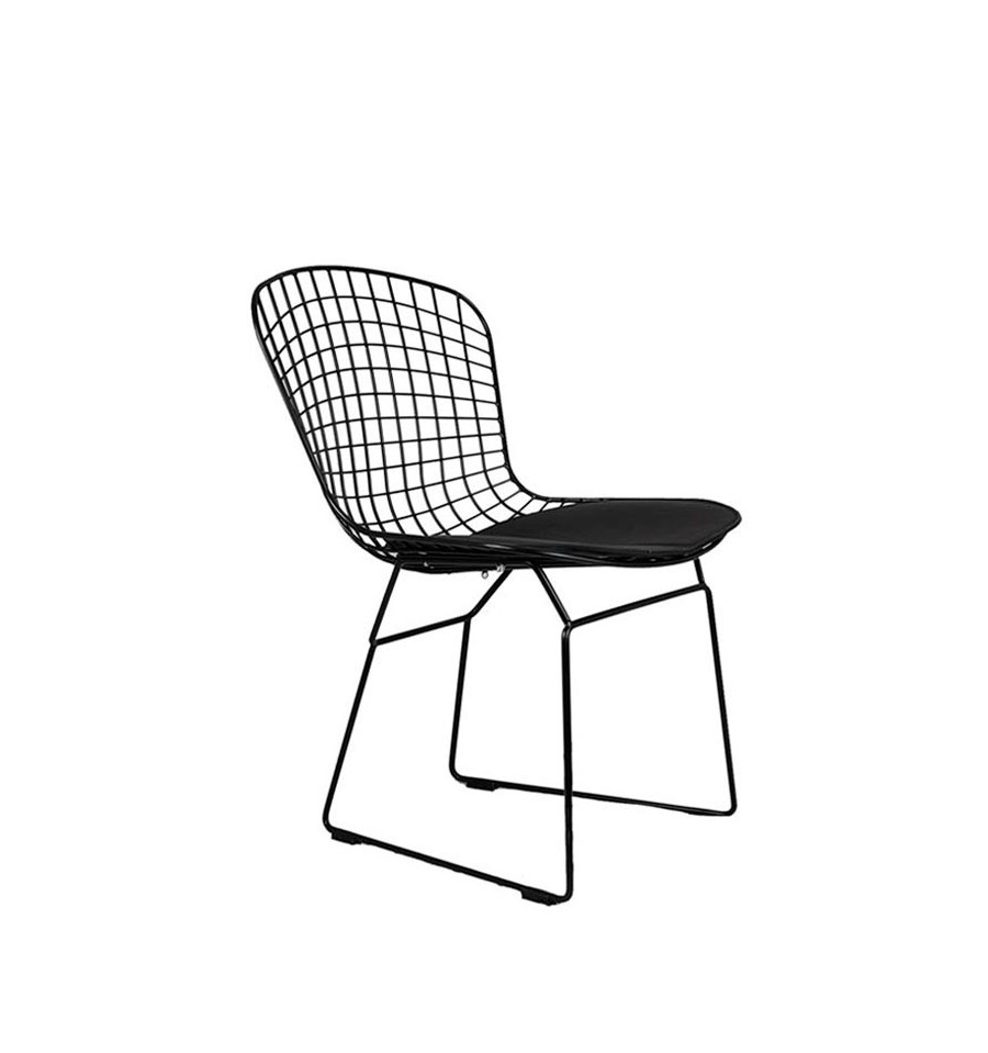 Silla Harry Bertoia Tribute en color negro