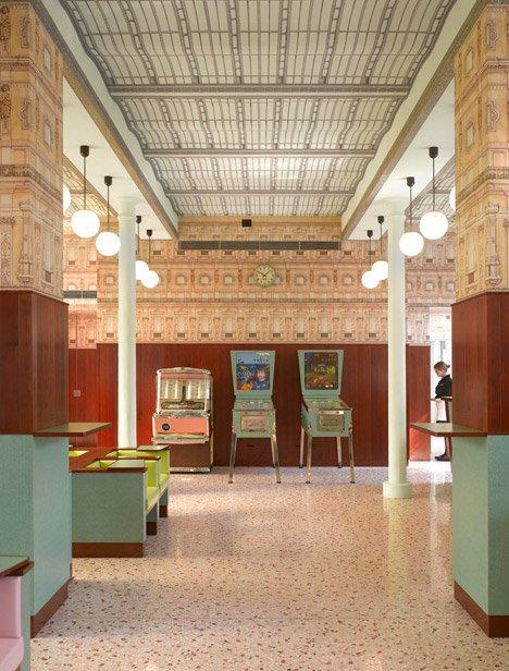 interiores con estilo - Bar Luce Milán detalle 5