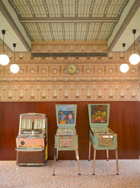 interiores con estilo - Bar Luce Milán detalle 4