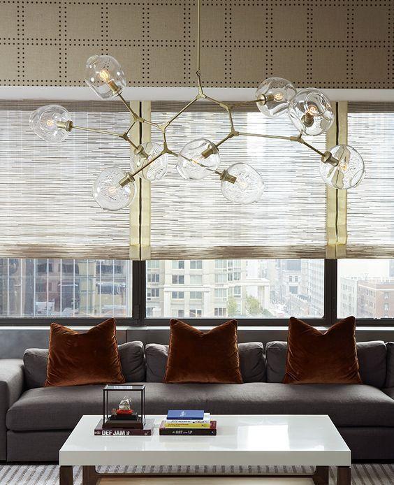 lámpara de techo de diseño tipo Lindsey Adelman