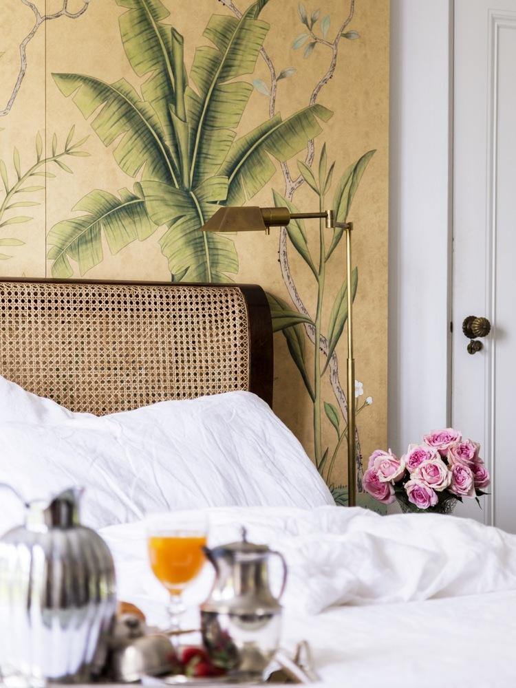 ejemplo de estilo ecléctico en dormitorios