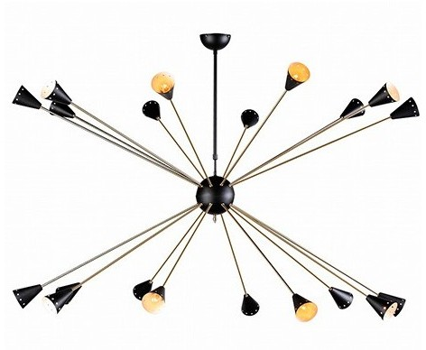 Lámpara de techo Sputnik