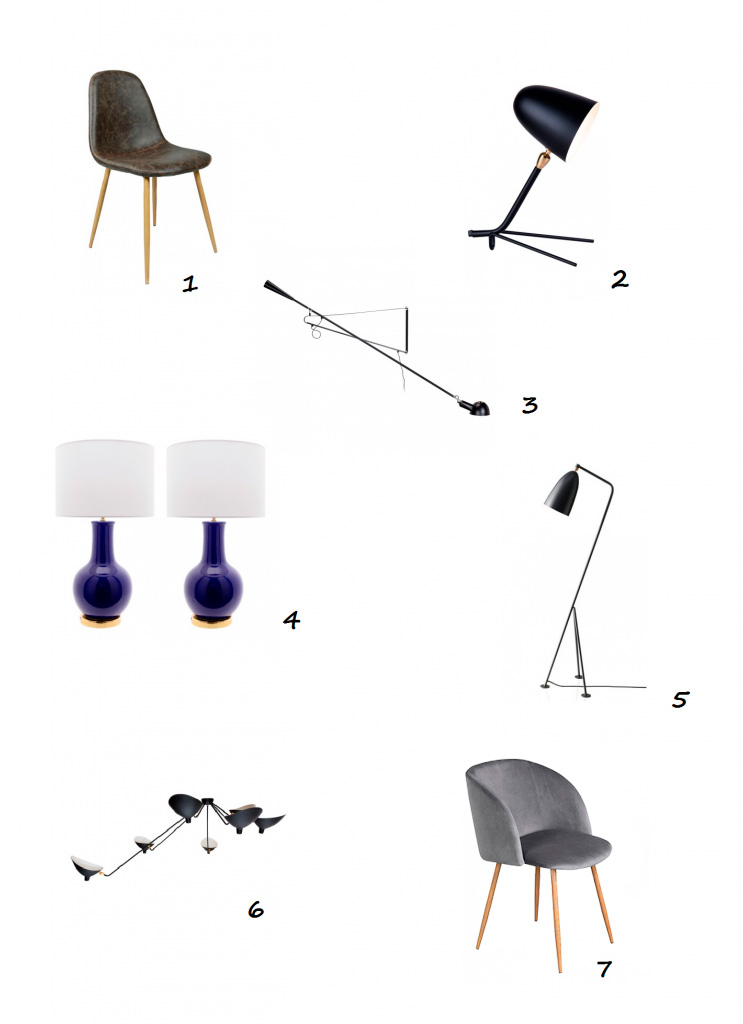 mobiliario masculino IconsCorner selección