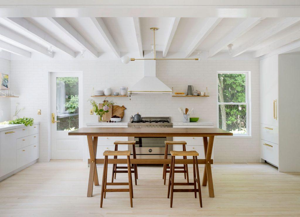 Salón cocina veraniega
