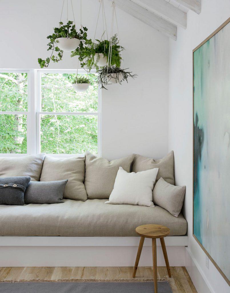 Decorar una casa de campo con tonos claros