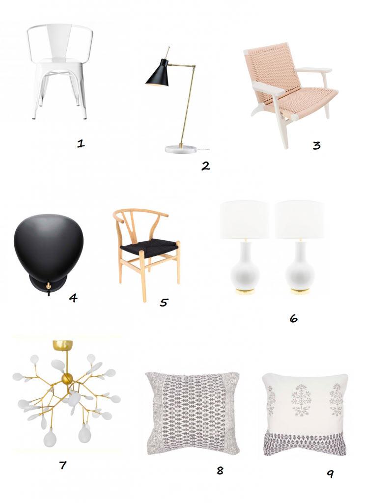 selección mobiliario verano 2018 IconsCorner