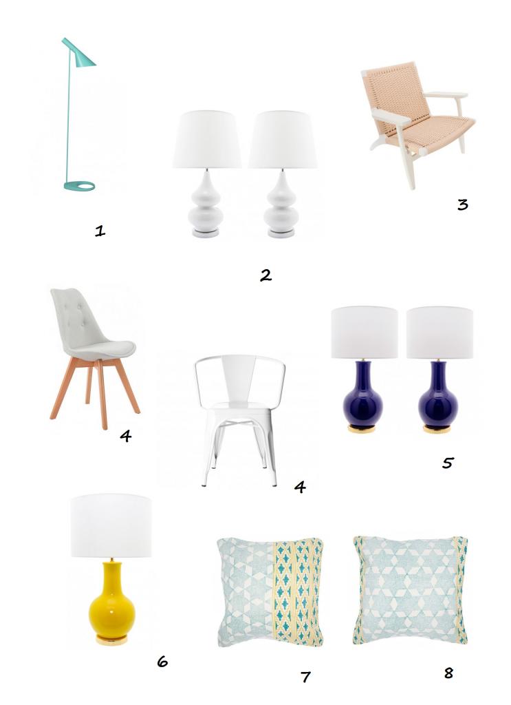 mobiliario estilo mediterráneo IconsCorner selección