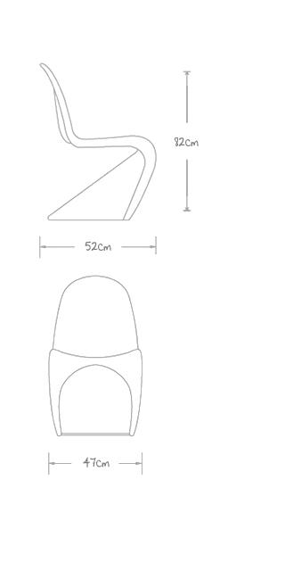 Panton-Chair-Verner-Silla